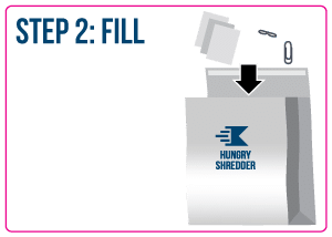 Fill your document shredding service sacks with your papers