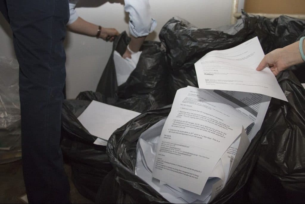 How Many Documents Does It Take To Change A Sack?